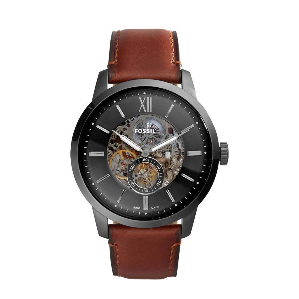 Fossil horloge Townsman ME3181 bruin, Bruin/grijs