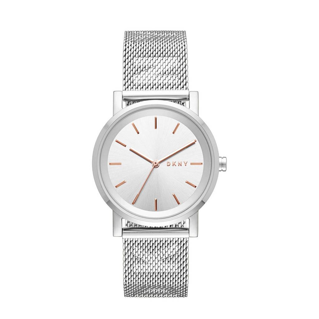 DKNY Soho Dames Horloge NY2620, Zilverkleurig