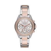Armani Exchange Lady Drexler Dames Horloge AX5653, Zilverkleurig