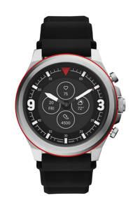 Fossil Latitude Hybrid Hr Heren Hybrid Smartwatch FTW7020, Zwart