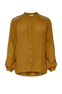 ONLY CARMAKOMA blouse oranje, Oranje