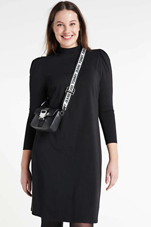 jurk Malorca met biologisch katoen zwart