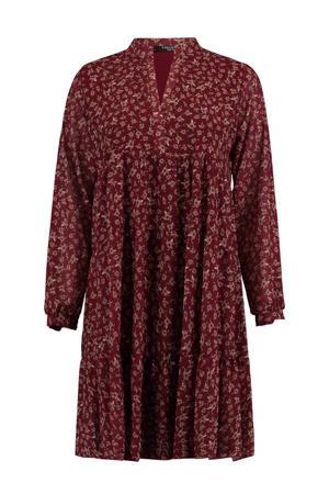 blousejurk met all over print rood