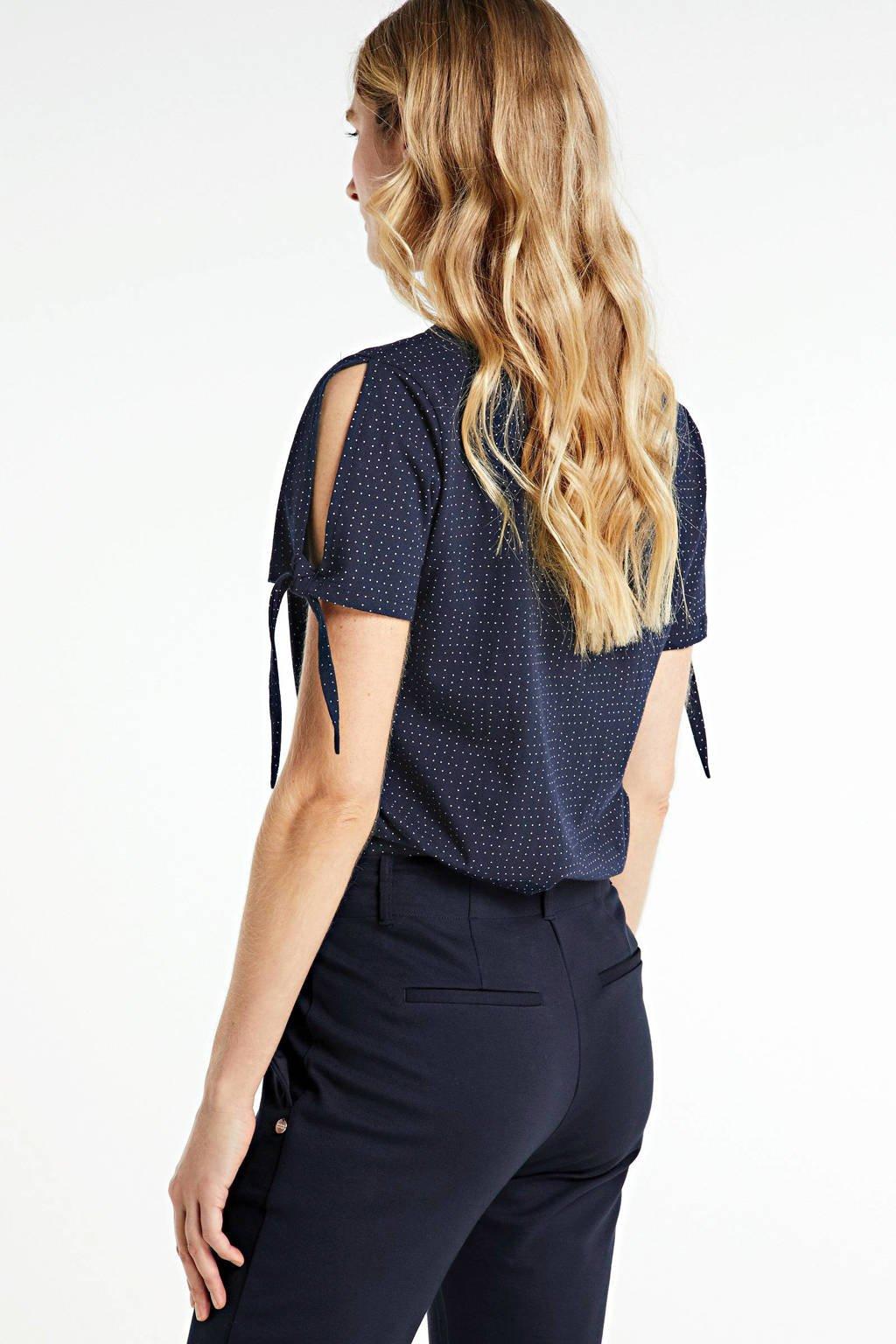 Zabaione T-shirt donkerblauw, Donkerblauw
