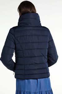 Zabaione gewatteerde jas Miri donkerblauw, Blauw