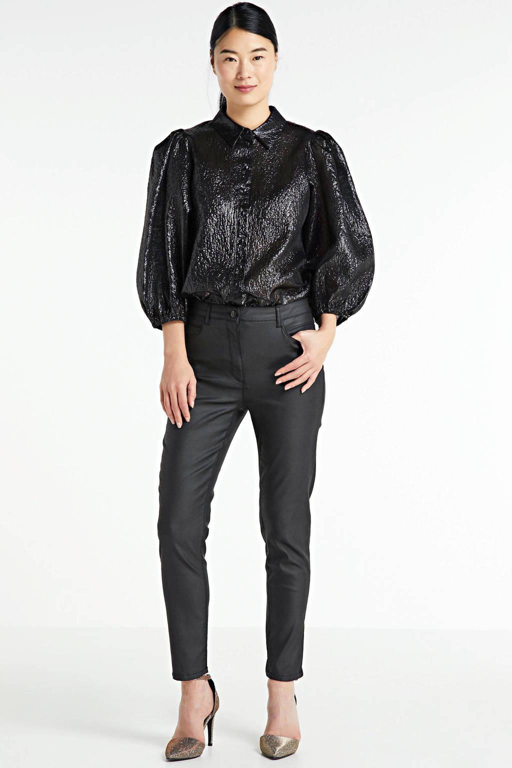 Zabaione skinny jeans zwart, Zwart