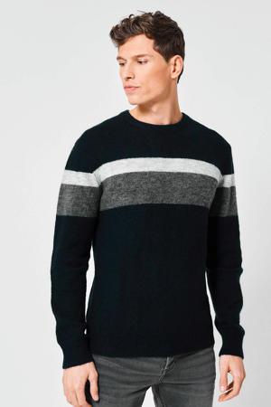 gestreepte trui Karter donkerblauw