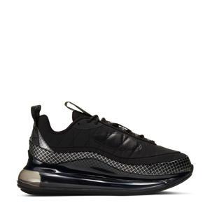 MX-720-818  sneakers zwart/zilver/antraciet