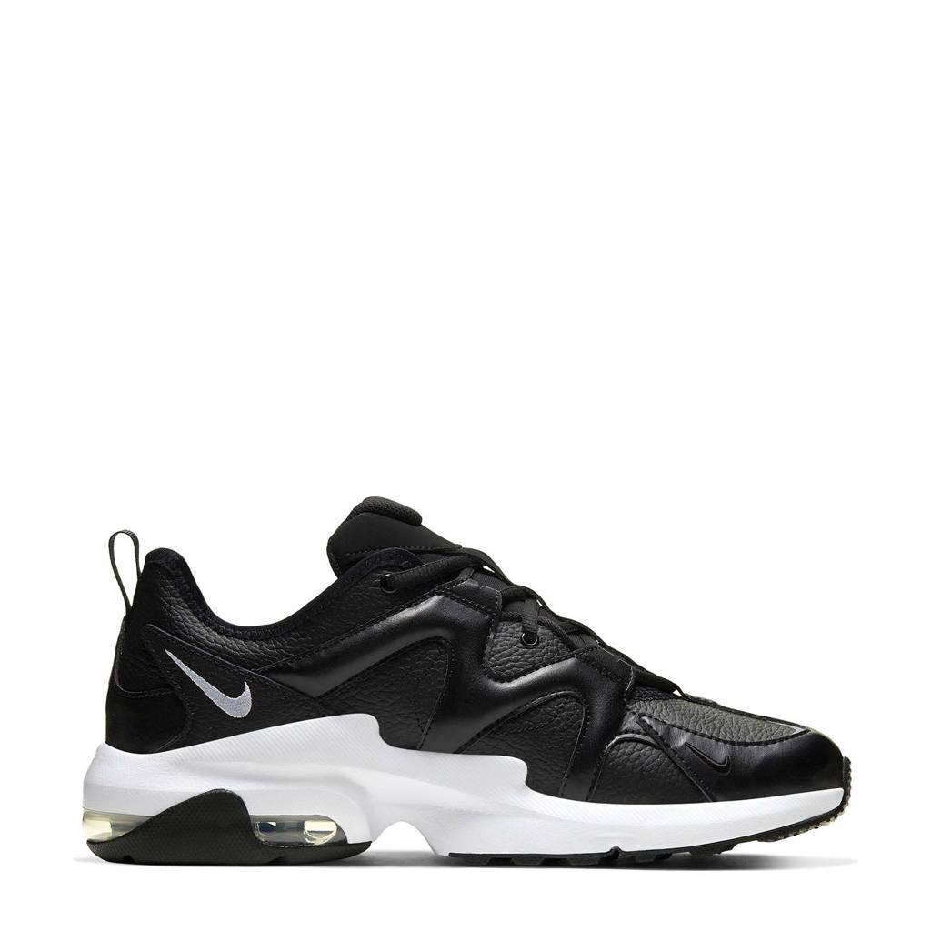 Nike Air Max Graviton  leren sneakers zwart/wit, Zwart/iwt