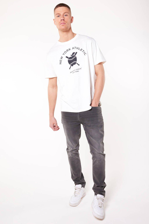 America Today slim fit jeans Neil grey, Grey