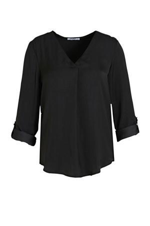blouse LS P BL Polly zwart