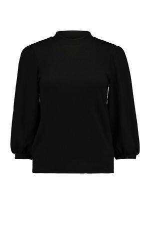 T-shirt 3/4 P TP Maja zwart