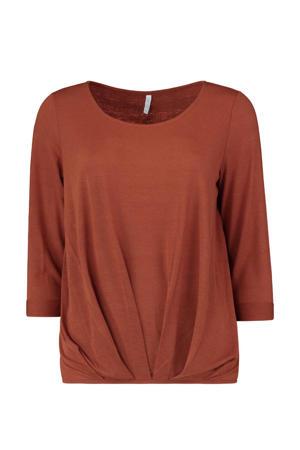 T-shirt 3/4 P TP Mara bruin