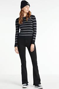 Hailys flared jeans Flare zwart, Zwart