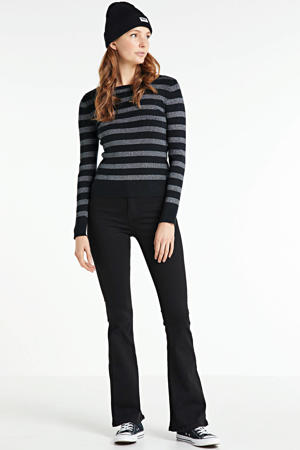 flared jeans Flare zwart
