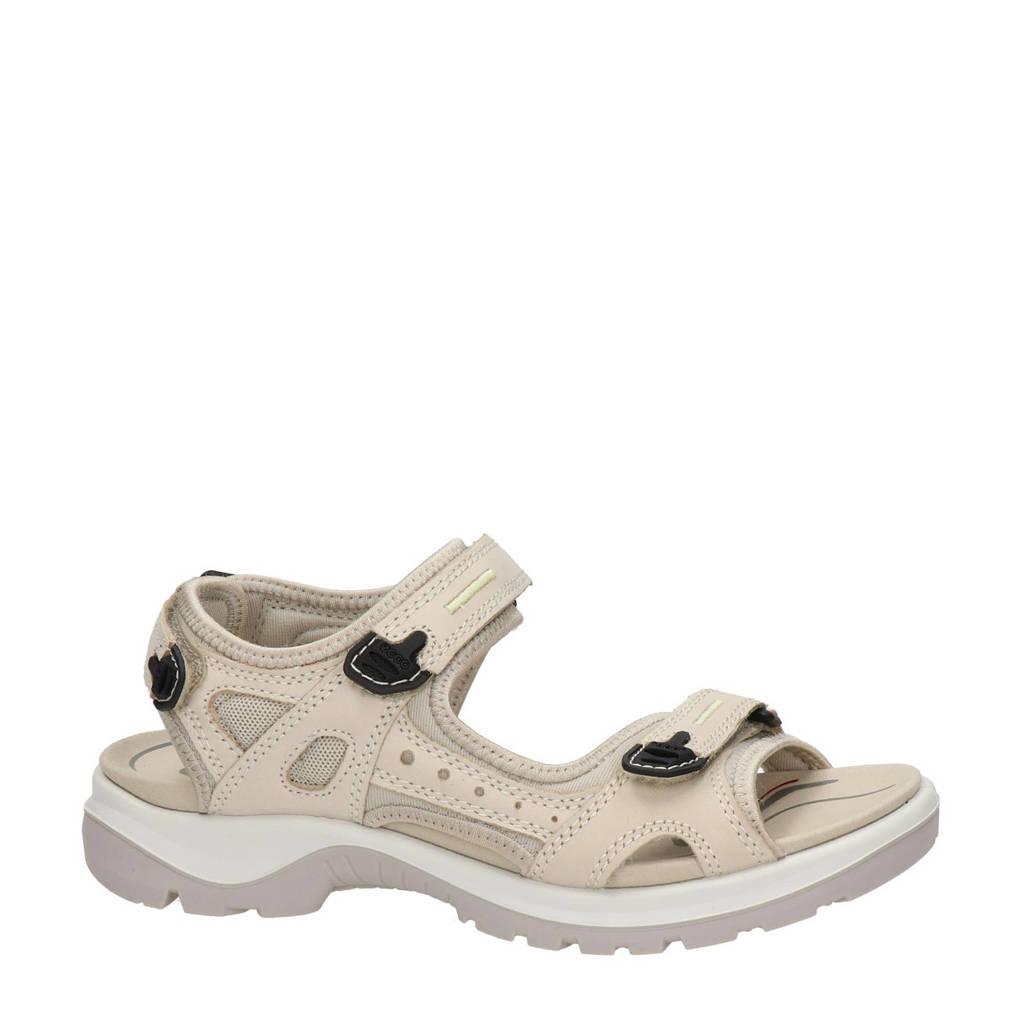 Ecco Offroad  nubuck outdoor sandalen ecru, Ecru
