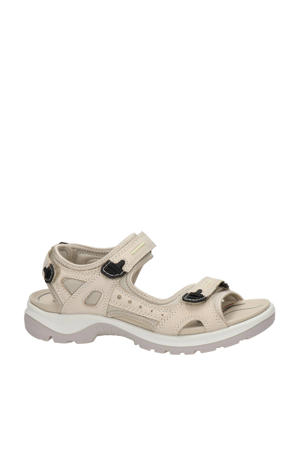 Offroad  nubuck outdoor sandalen ecru