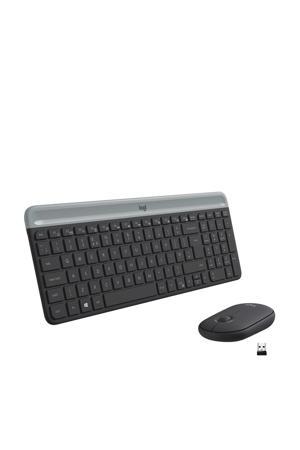 MK470 Slim Combo draadloos toetsenbord en muis (Zwart)
