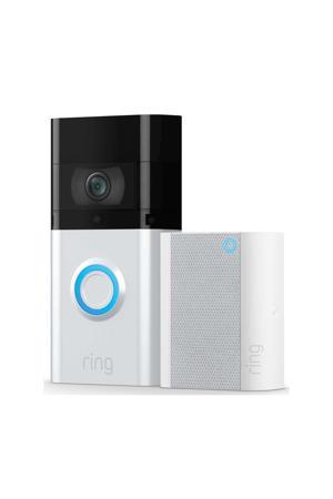 IP Camera Video Deurbel 3 + Chime (Gen2) bundel