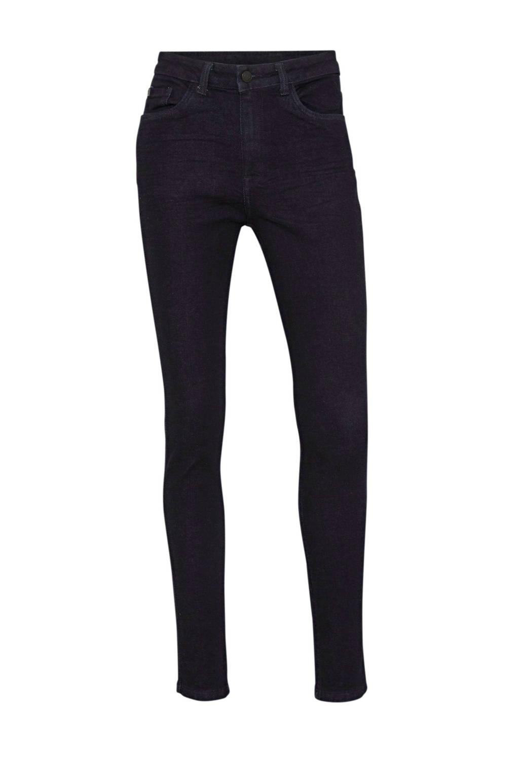 C&A The Denim high waist skinny jeans met biologisch katoen donkerblauw, Donkerblauw
