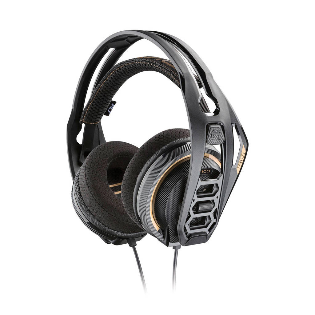 Nacon  RIG 400 PRO HC gaming headset (PS4/Xbox One/PC), Black,Gold