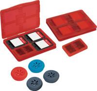 BigBen bescherming Switch duimgrips en game card cases, Rood