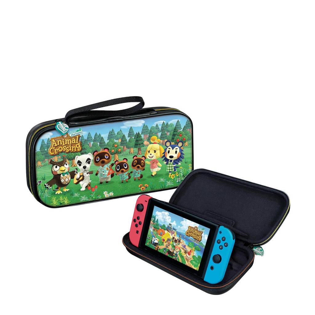 "BigBen Nintendo Switch Animal Crossing ""New Horizon"" deluxe travel case, Multi"