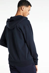 SELECTED HOMME vest van biologisch katoen donkerblauw, Donkerblauw