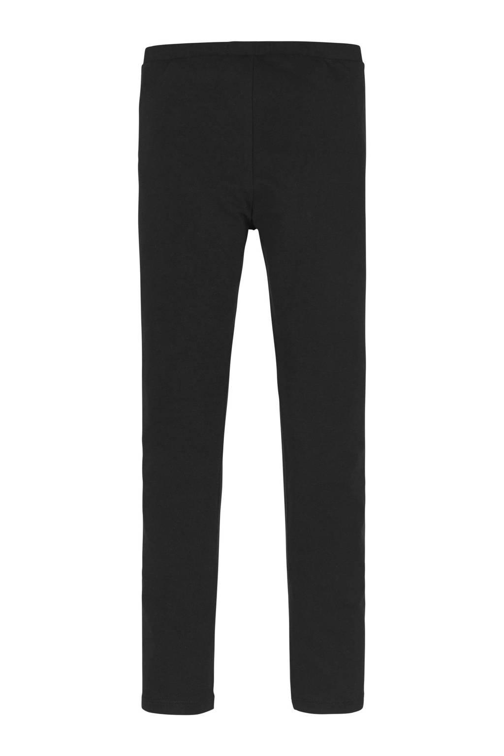 CALVIN KLEIN JEANS legging met biologisch katoen zwart, Zwart