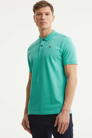 regular fit polo turquoise