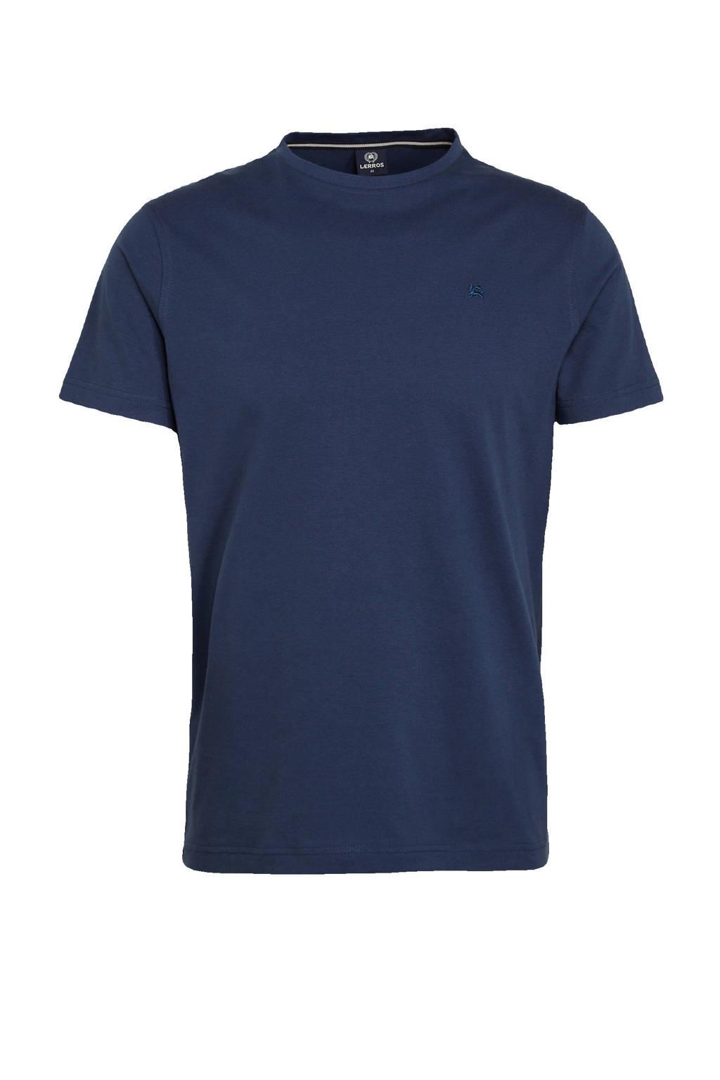 LERROS T-shirt donkerblauw, Donkerblauw