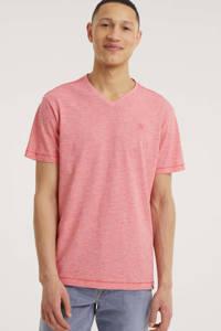 LERROS gemêleerd T-shirt rood, Rood