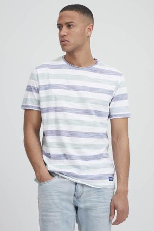 gestreept T-shirt moonlight blue