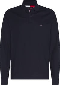 Tommy Hilfiger regular fit polo donkerblauw, Donkerblauw