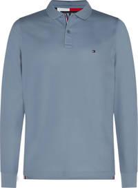 Tommy Hilfiger regular fit polo grijsblauw, Grijsblauw