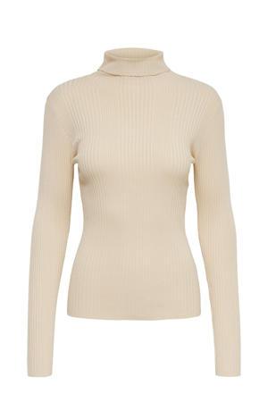 fine knit top zwart