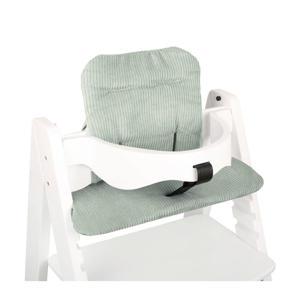 kussenset voor kinderstoel Kidsmill Up mint ribfluweel
