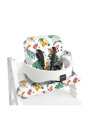 kussenset voor kinderstoel Kidsmill Up wit