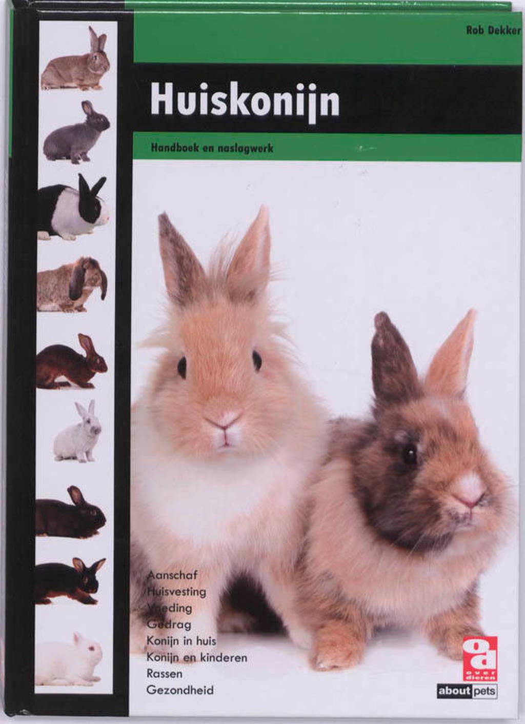 Over Dieren: Huiskonijn - Rob Dekker