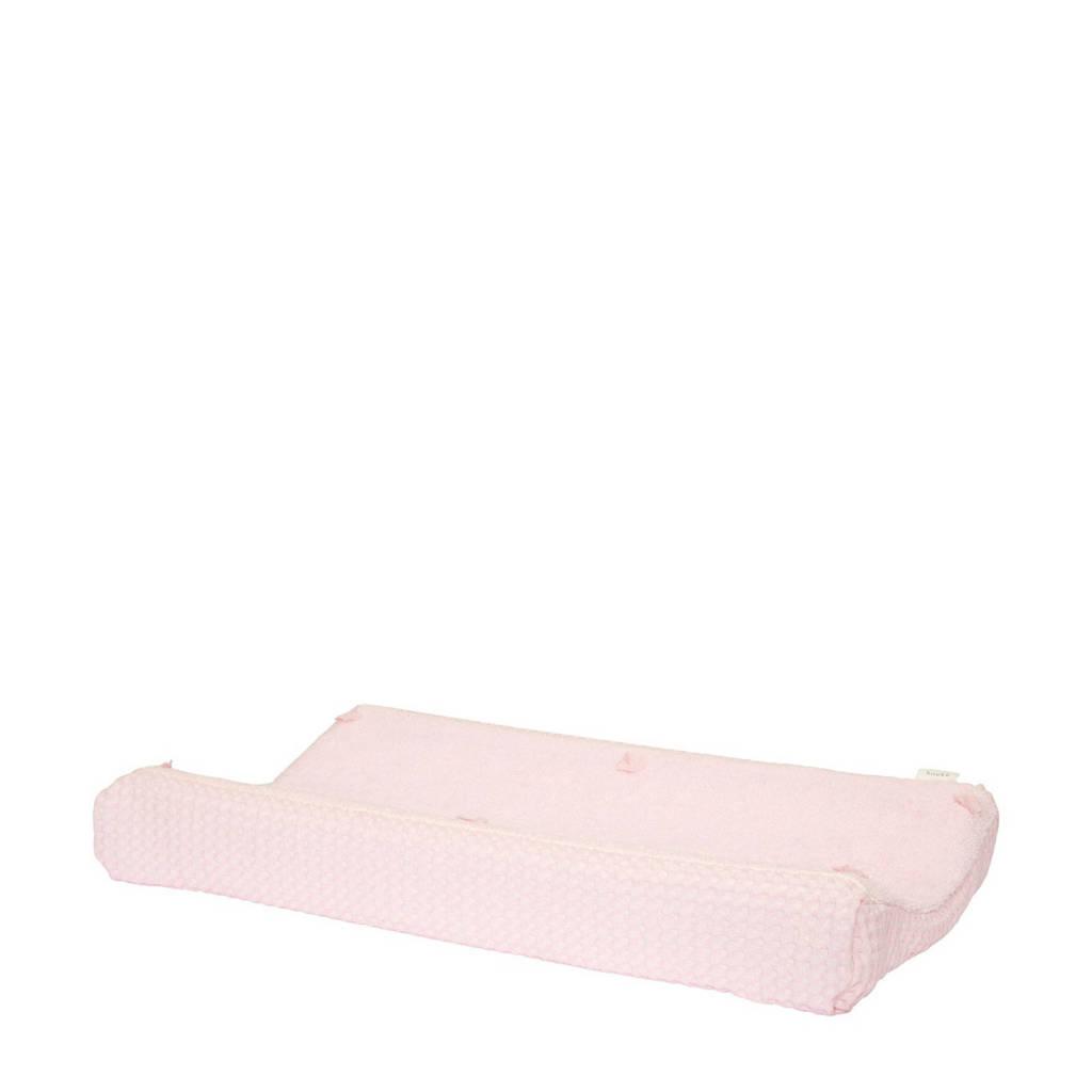 Koeka Amsterdam aankleedkussenhoes wafel 45x73cm old baby pink, Roze