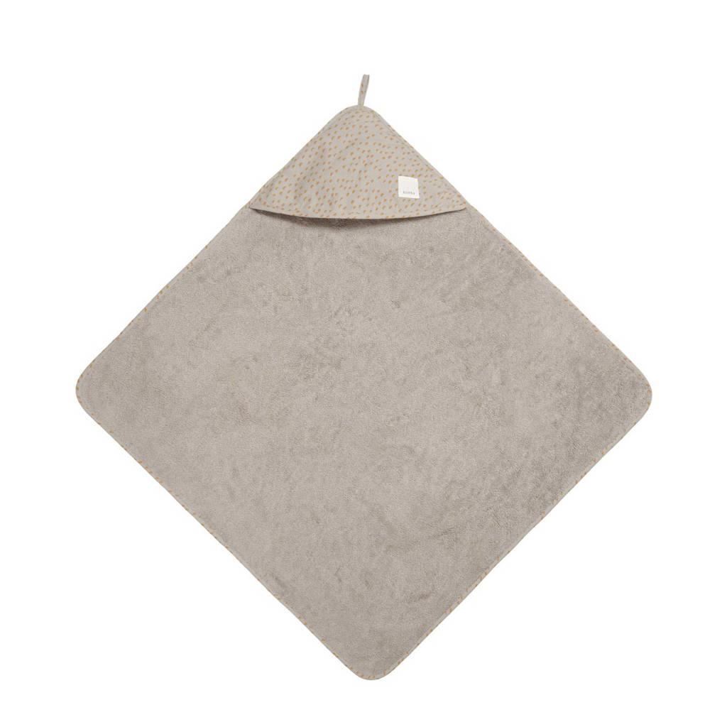 Koeka badcape Malin 100x100 cm misty grey, Grijs