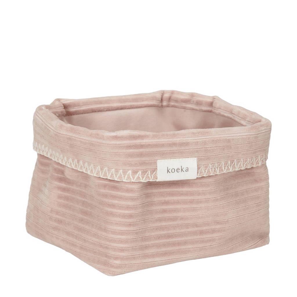 Koeka commodemandje Vik grey pink, Grey Pink
