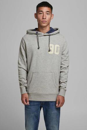 hoodie grijs/wit