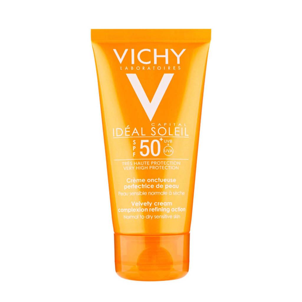 Vichy Idéal Soleil Skin-Perfecting Velvety SPF50+ zonnebrand - 50 ml