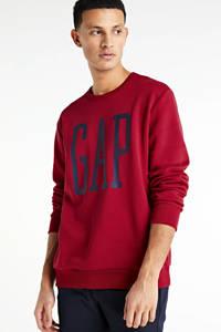 GAP sweater met logo rood, Rood