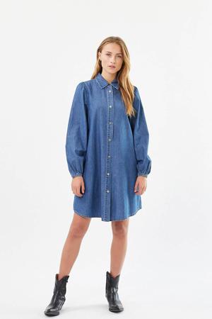 blousejurk Halonna blauw