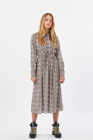 blousejurk Tanisa met all over print multikleurig