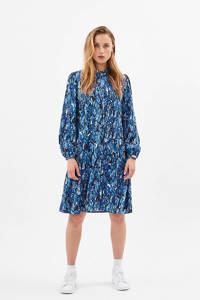 Moves blousejurk Latif met all over print blauw, Blauw