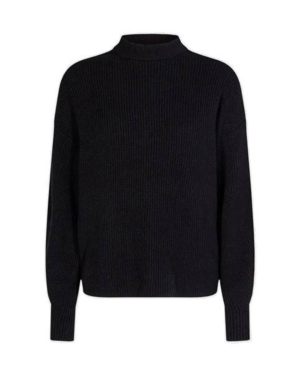 Moves trui Hasina zwart, Zwart