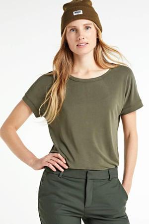 T-shirt Fenya kakigroen